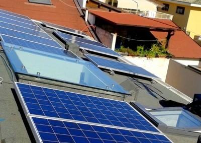 Realizzazione impianto fotovoltaico, Via garibaldi - Roseto 1