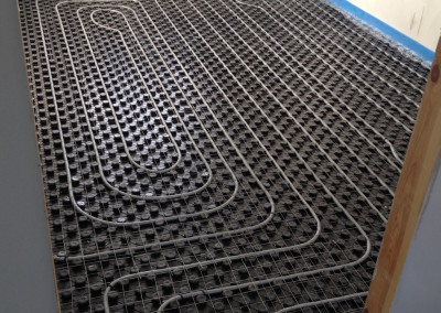 <b>Impianto radiante a pavimento </b> <BR>Teramo