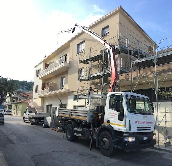 Ristrutturazione Via Patrizi, Roseto